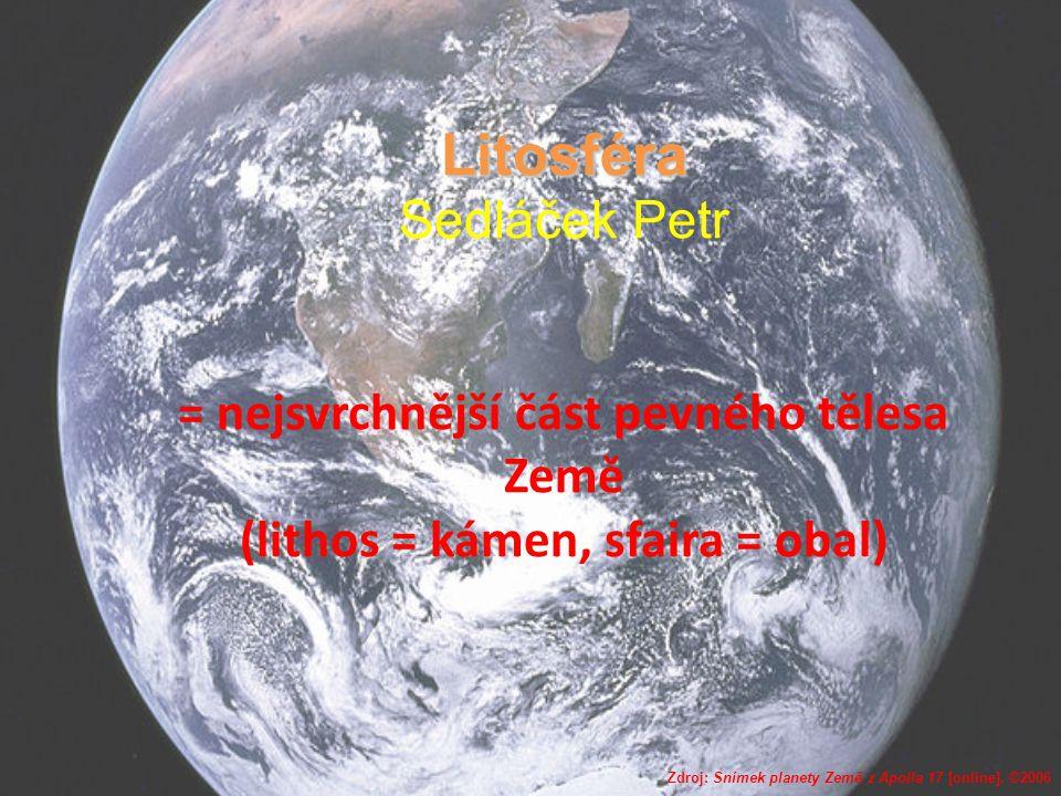 Zdroj: Snímek planety Země z Apolla 17 [online]. ©2006